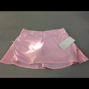 db45d407c lululemon athletica Shorts - Lululemon Play Off The Pleats Skirt Pearl Pink  NWT